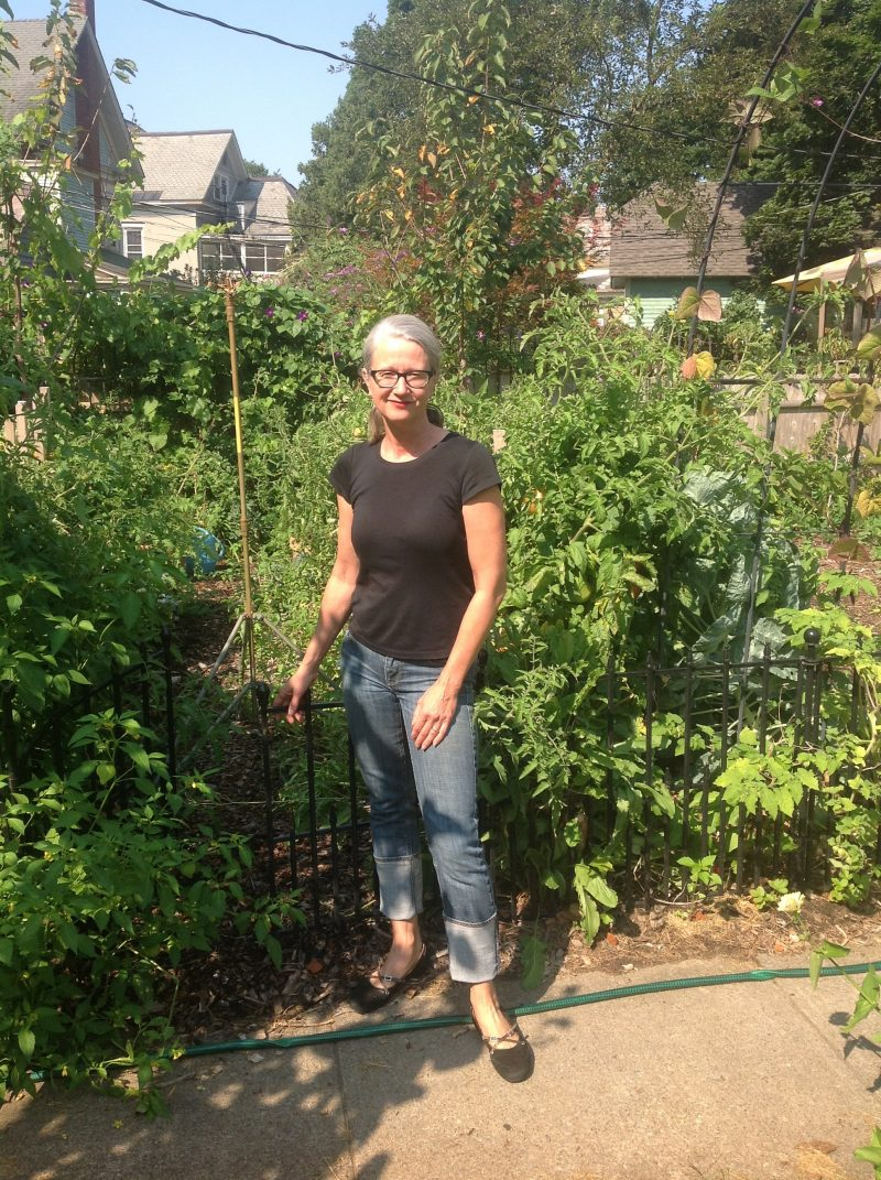 Heavy for a gardener, but not for a 52 year-old American