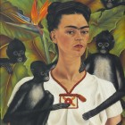 Autorretrato con monos, 1943, The Jacques and Natasha Gelman Collection of Mexican Art, (C) Banco de México Diego Rivera & Frida, Kahlo Museums Trust, Mexico, D. F./ Artists Rights Society (ARS), New York