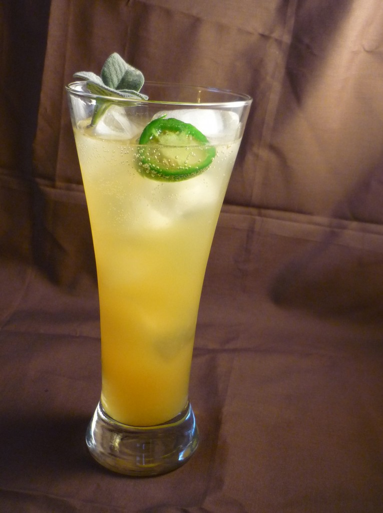 Agave Pina Cocktail