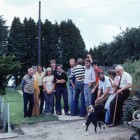 The Ingwersen's Birch Farm nursery staff 1979. David Watling is 3rd from left. Allen Bush is 5th from right.