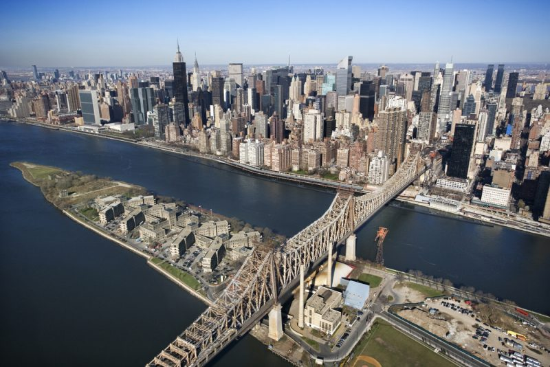 Roosevelt Island courtesy of Shutterstock