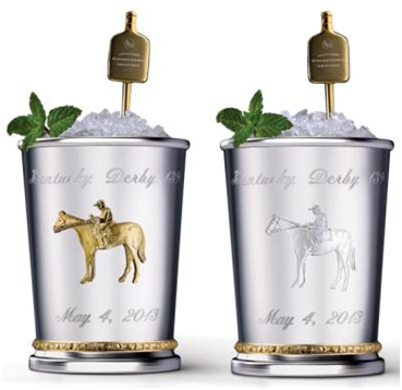 """Mint Juleps with """"gold-filtered mineral water"""" from eastern Nova Scotia"""