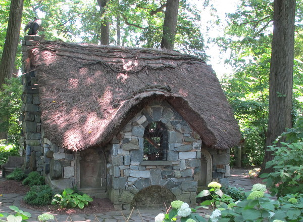 My Favorite Part Of The Garden Are Enchanted Woods Where This Faerie Cottage House Is Just One Features That Makes You Feel Young Again