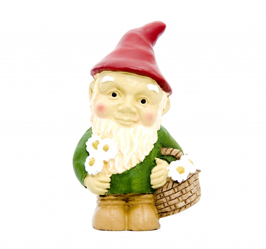 Gnome image courtesy of Shutterstock (Only kidding on this one. I heart gnomes.)