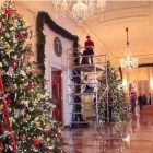 white house decorating