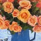'Singin' in the Rain' - a California-grown garden rose from Rose Story Farm.