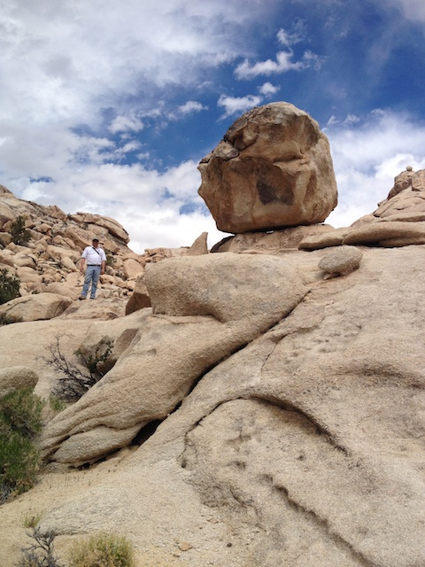 George Uebelhart at the Sweeney Granite Mountains Desert Research Station