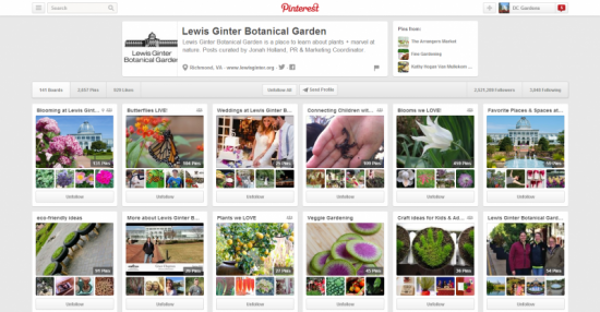 Lewis Ginter Botanical Garden on Pinterest
