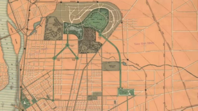 The Buffalo park plan