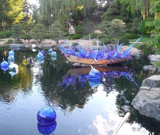 Chihuly at the Denver Botanic Gardens.
