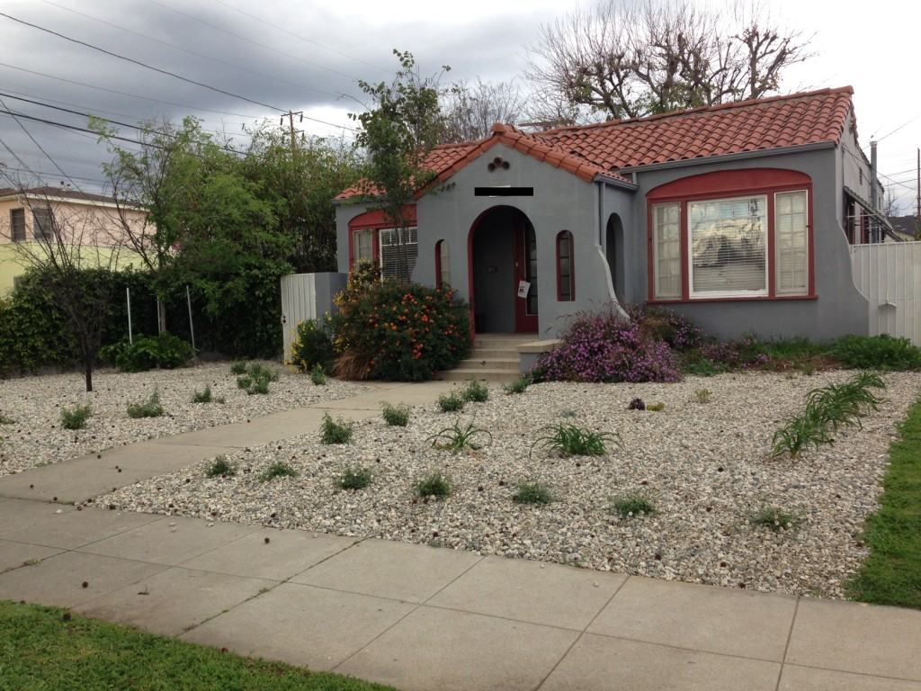 The road to hell is paved with chunky gravel and for Landscaping my front yard
