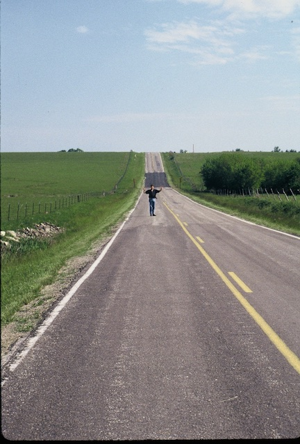 Georg Uebelhart, somewhere in Kansas 1997.