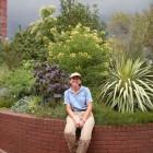 Janet Draper at the Mary Livingston Ripley Garden.