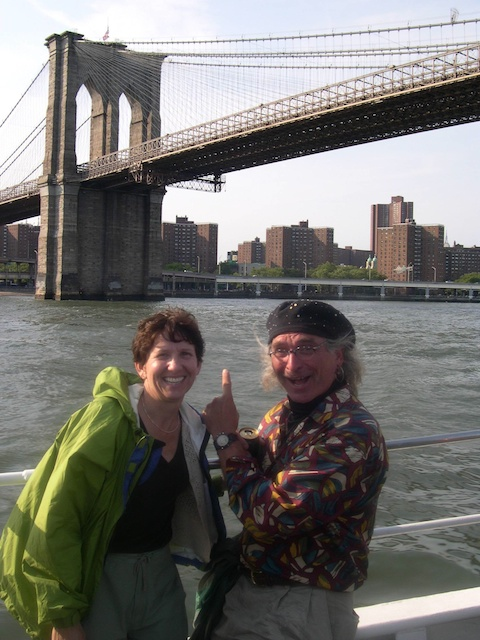 Janet and Simple at the NYC PPA symposium in 2004.