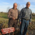 David Kirchhoff and Mort Morss on top of the Daylily World in early December.