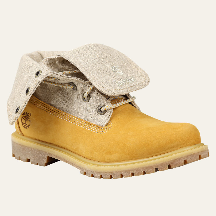 Timberland's Authentic Canvas Fold Down Boot