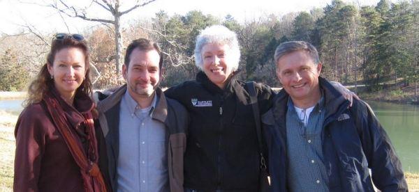 Garden Professor Blog founders Holly Scoggins, Jeff Gillman, Linda Chalker-Scott and Bert Cregg
