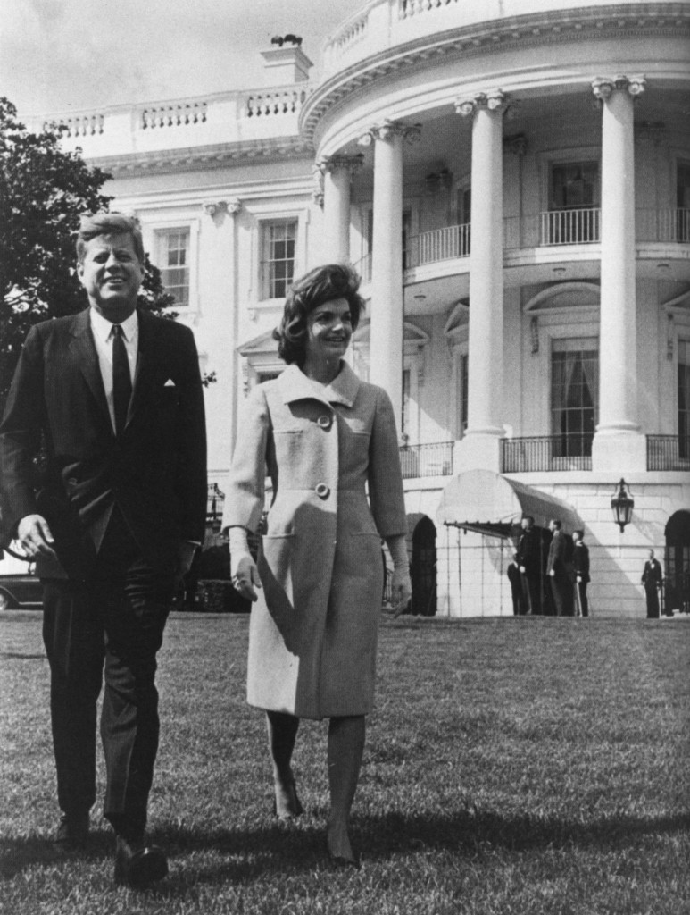 The Kennedys created a new Rose Garden.