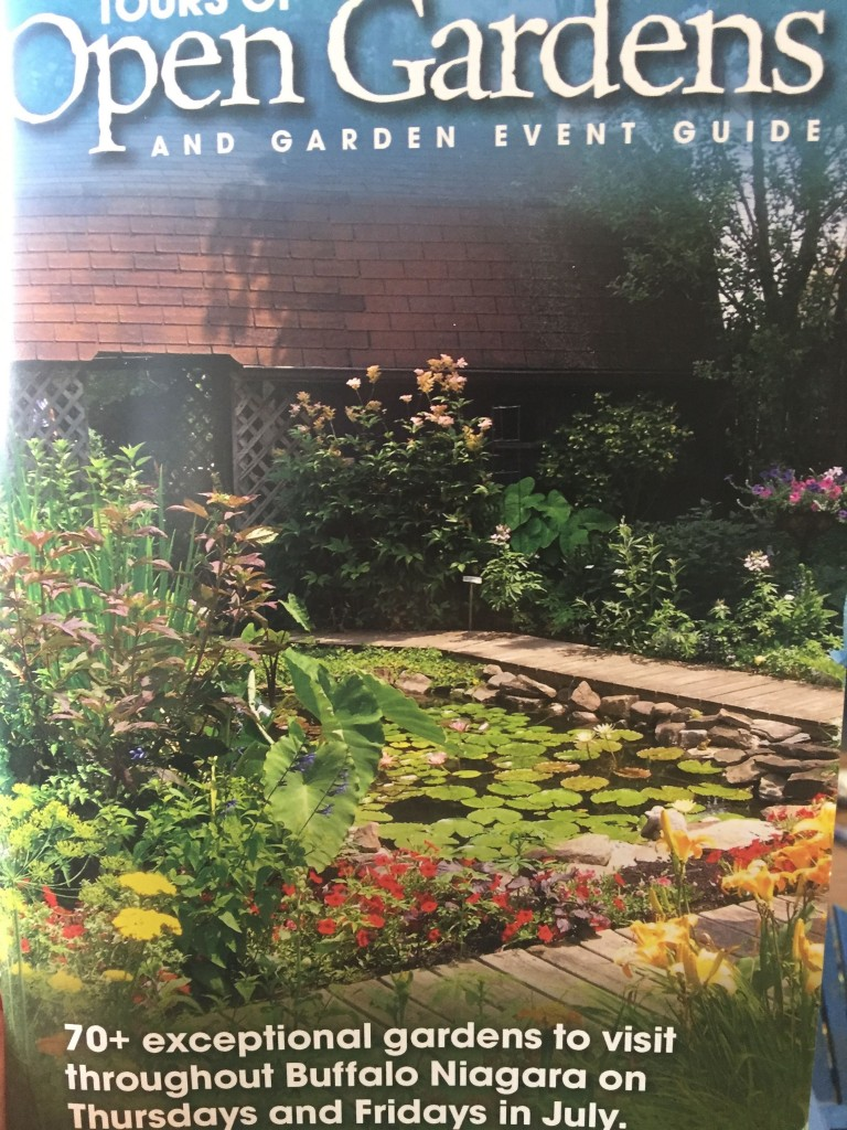 It takes a 90-page book to explain Buffalo's garden walks and other programming in July.