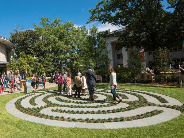 so is it possible for outdoor labyrinths to be relatively low maintenance