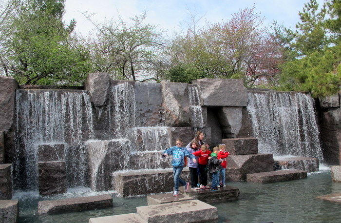 FDR Memorial by Lawrence Halprin