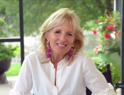 First Lady Jill Biden and the White House Gardens