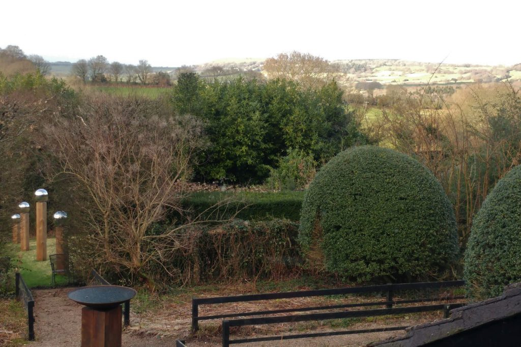 Front-Garden-Veddw-in-winter