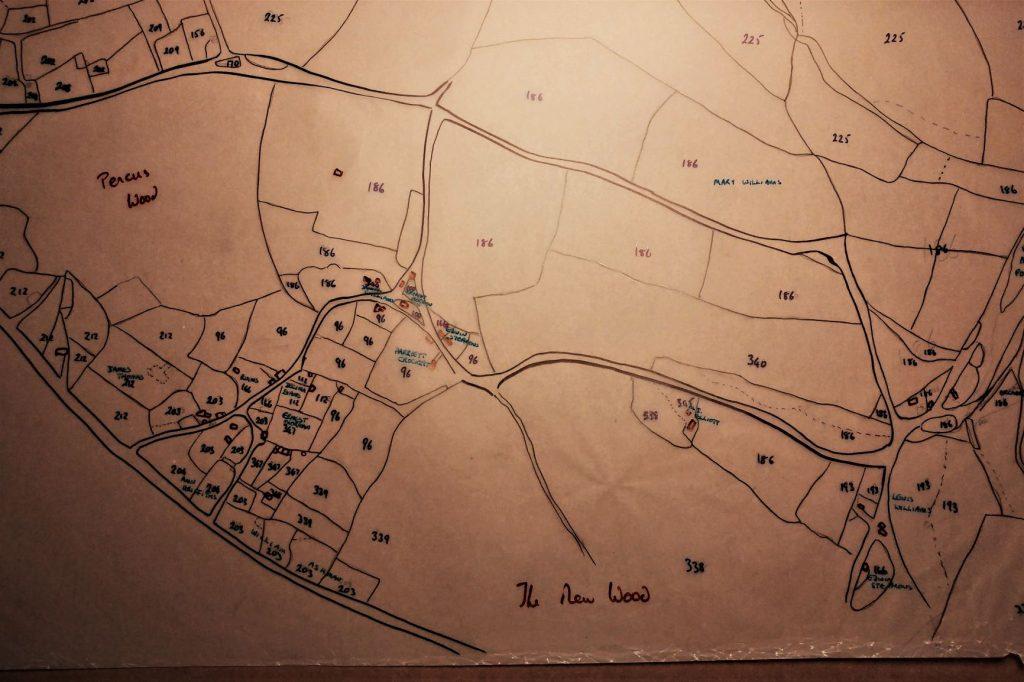Tithe-Map Veddw-1841