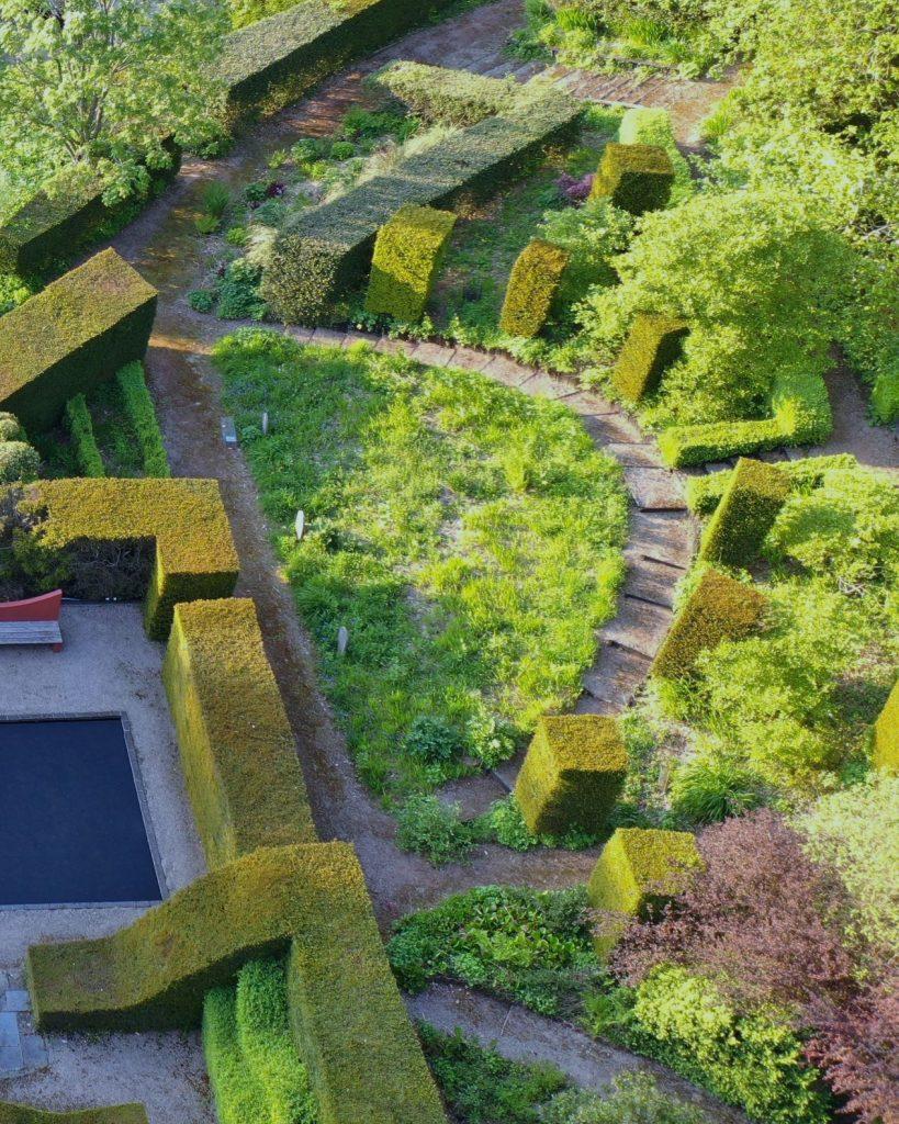 Wild Garden, Veddw, copyright Charles Hawes