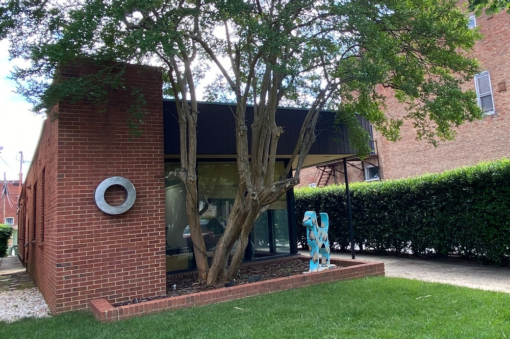 Modern home on Richmond's Monument Avenue.