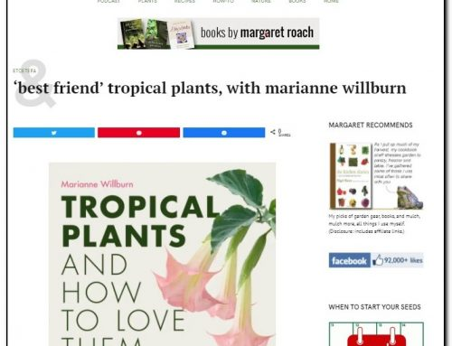 """Marianne Chats with Margaret Roach on """"A Way to Garden"""" Podcast"""