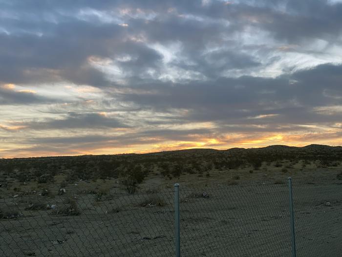 barstow sunrise