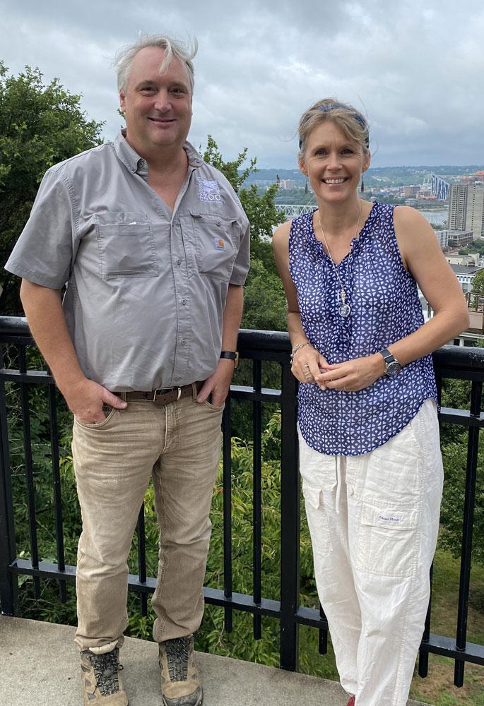 Scott Beuerlein and Marianne Willburn