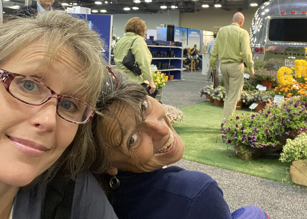 Louisa Roberts and Marianne Willburn