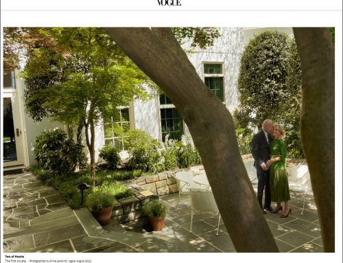 White House Gardens and Grounds in the News