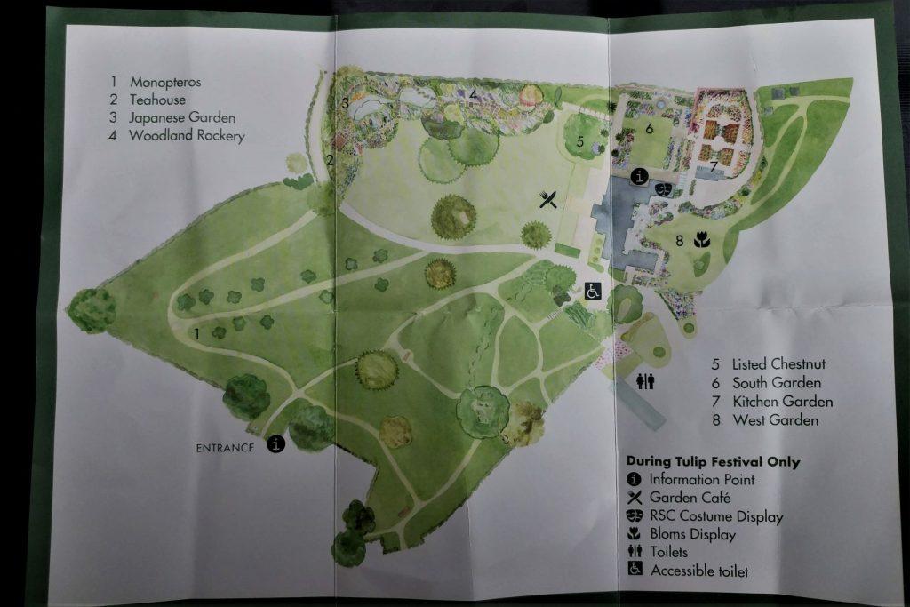 Morton Hall Garden Plan